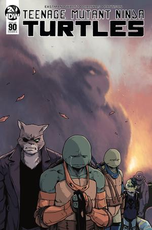 Teenage Mutant Ninja Turtles Vol 5 #90 Cover A Regular Michael Dialynas Cover