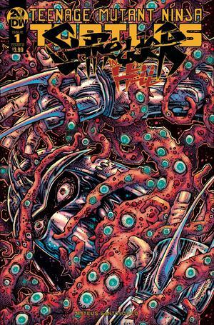 Teenage Mutant Ninja Turtles Shredder In Hell #1 Cover B Variant Kevin Eastman Cover