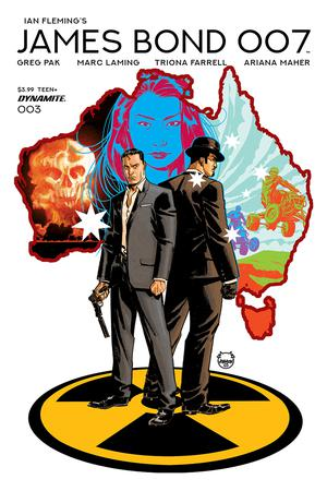 James Bond 007 #3 Cover A Regular Dave Johnson Cover