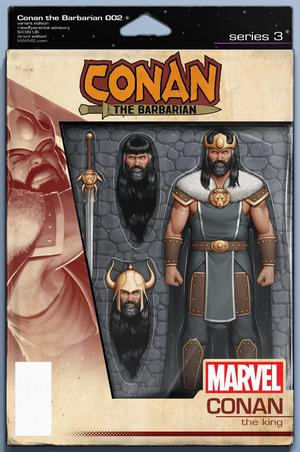 Conan The Barbarian Vol 4 #2 Cover C Variant John Tyler Christopher Action Figure Cover