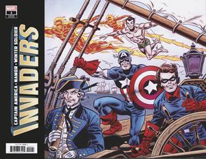 Invaders Vol 3 #1 Cover D Variant Frank Robbins Hidden Gem Cover