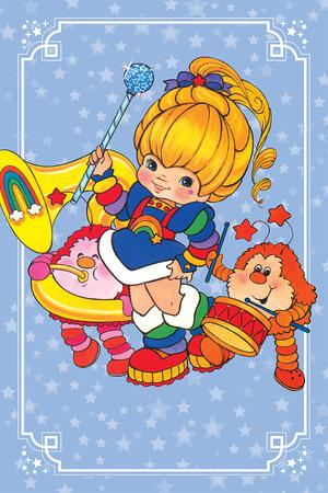 Rainbow Brite #4 Cover D Incentive Classic Virgin Cover