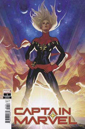 Captain Marvel Vol 9 #1 Cover D Incentive Adam Hughes Variant Cover