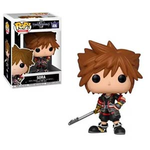 POP Disney 406 Kingdom Hearts III Sora Vinyl Figure
