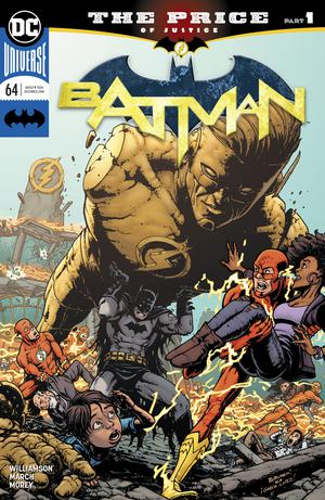 Batman Vol 3 #64 Cover A Regular Chris Burnham Cover (Last Cold Case Part 1)(Heroes In Crisis Tie-In)
