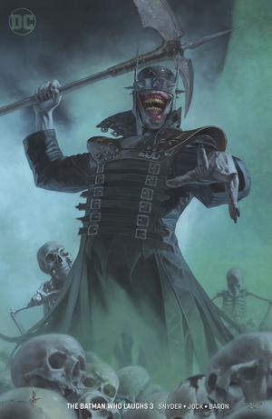 Batman Who Laughs #3 Cover B Variant Riccardo Federici Cover (Limit 1 Per Customer)