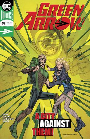 Green Arrow Vol 7 #49 Cover A Regular Kevin Nowlan Cover