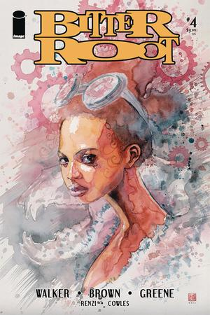 Bitter Root #4 Cover B Variant David Mack Cover