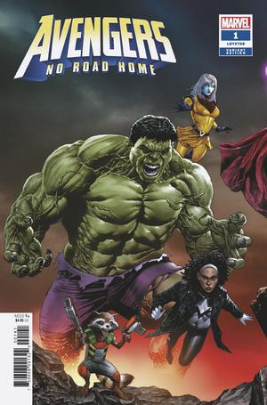 Avengers No Road Home #1 Cover B Variant Mico Suayan Connecting Cover (1 Of 3)