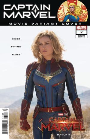 Captain Marvel Vol 9 #2 Cover B Variant Movie Cover