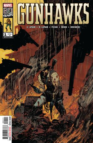 Gunhawks One Shot Cover A Regular Gerardo Zaffino Cover