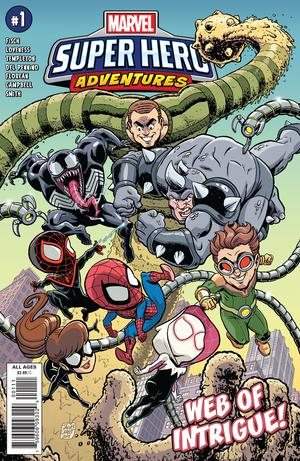 Marvel Super Hero Adventures Spider-Man Web Of Intrigue #1