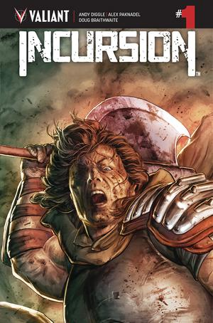 Incursion (Valiant Entertainment) #1 Cover A Regular Doug Braithwaite Cover