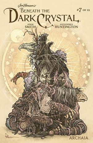 Jim Hensons Beneath The Dark Crystal #7 Cover B Variant David Petersen Preorder Cover