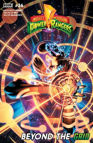 Mighty Morphin Power Rangers (BOOM Studios) #36 Cover A Regular Jamal Campbell Cover