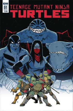 Teenage Mutant Ninja Turtles Vol 5 #91 Cover A Regular Michael Dialynas Cover