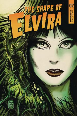 Elvira Shape Of Elvira #2 Cover A Regular Francesco Francavilla Cover