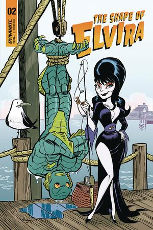 Elvira Shape Of Elvira #2 Cover B Variant J Bone Cover
