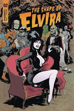 Elvira Shape Of Elvira #2 Cover C Variant Dave Acosta Cover