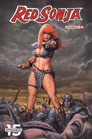 Red Sonja Vol 8 #1 Cover B Variant Joseph Michael Linsner Cover