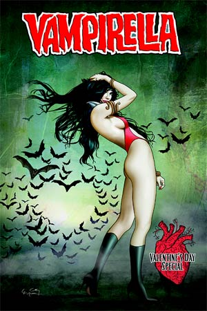 Vampirella Valentines Day Special One Shot Cover A Regular Ergun Gunduz Cover