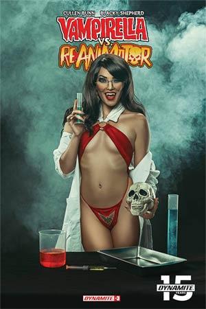 Vampirella vs Reanimator #3 Cover D Variant Cosplay Photo Cover