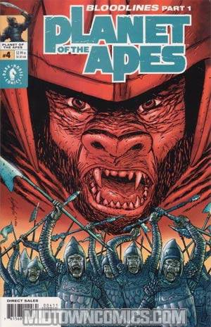 Planet Of The Apes Vol 2 #4 Bloodlines Reg Cvr