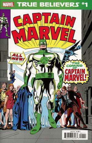 True Believers Captain Mar-Vell #1