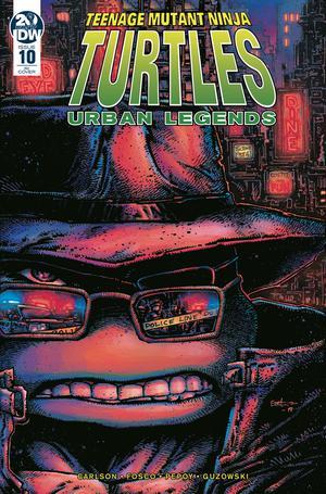 Teenage Mutant Ninja Turtles Urban Legends #10 Cover C Incentive Kevin Eastman Variant Cover