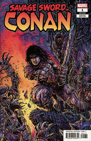 Savage Sword Of Conan #1 Cover C Incentive Kevin Eastman Color Variant Cover