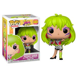 POP Animation 480 Jem And The Holograms Pizzazz Gabor Vinyl Figure