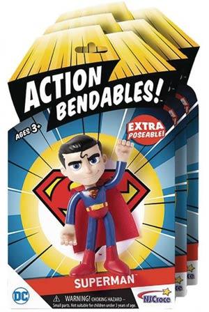 Justice League Action Bendables Figure - Superman