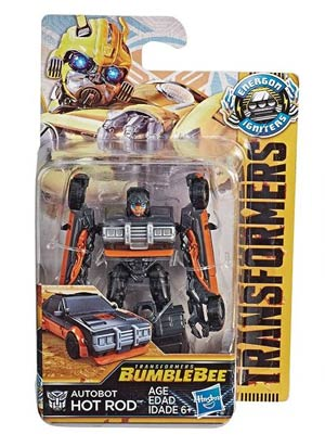 Transformers Bumblebee Igniters Speed Series Action Figure Assortment 201801 - Hot Rod