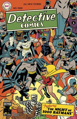 Detective Comics Vol 2 #1000 Cover D Variant Michael Cho 1950s Cover