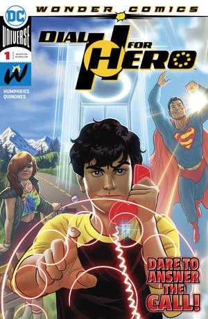 Dial H For HERO #1 Cover A Regular Joe Quinones Cover