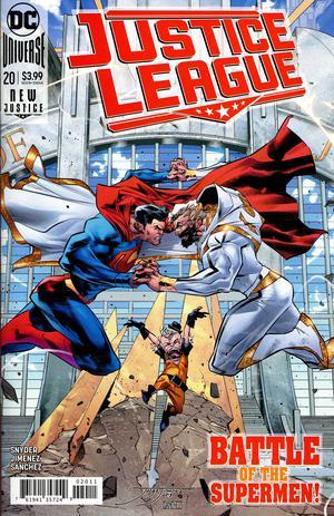Justice League Vol 4 #20 Cover A Regular Jorge Jimenez Center Cover