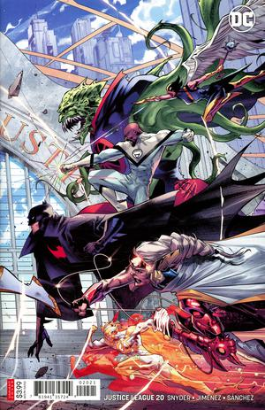 Justice League Vol 4 #20 Cover B Variant Jorge Jimenez Right Side Cover