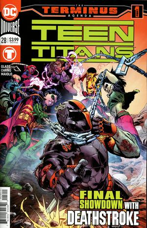 Teen Titans Vol 6 #28 Cover A Regular Carlo Pagulayan Cover (Terminus Agenda Part 1)