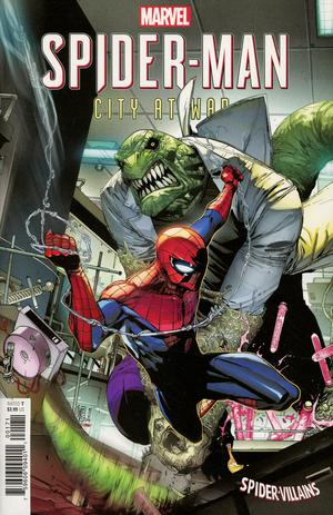 Marvels Spider-Man City At War #1 Cover B Variant Giuseppe Camuncoli Spider-Man Villains Cover