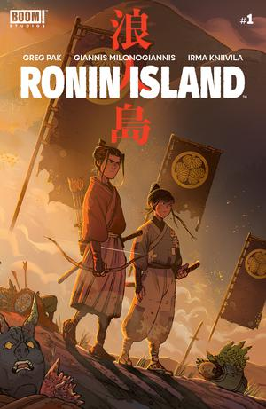 Ronin Island #1 Cover A Regular Giannis Milonogiannis Cover