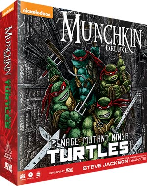 Munchkin Teenage Mutant Ninja Turtles Deluxe Edition