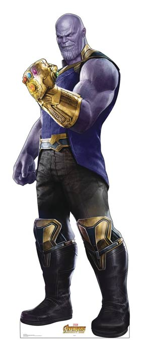 Avengers Infinity War Life-Size Stand-Up - Thanos