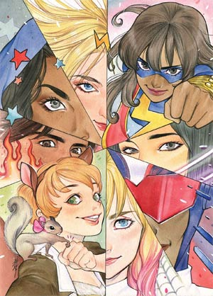 Marvel Rising #1 By Audrey Mok Poster