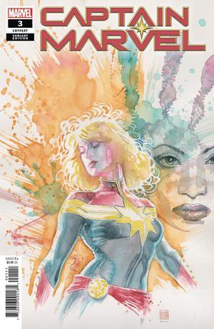 Captain Marvel Vol 9 #3 Cover C Incentive David Mack Variant Cover