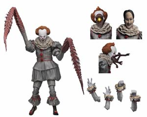 IT Ultimate Dancing Clown Pennywise 7-inch Scale Action Figure