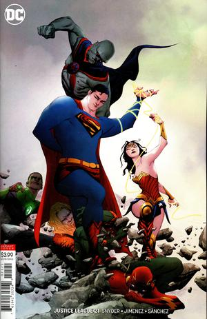 Justice League Vol 4 #21 Cover B Variant Jae Lee Cover