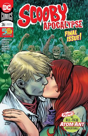 Scooby Apocalypse #36 Cover A Regular Patrick Olliffe & Tom Palmer Cover