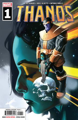 Thanos Vol 3 #1 Cover A Regular Jeff Dekal Cover