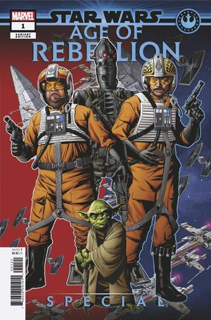 Star Wars Age Of Rebellion Special #1 Cover C Variant Mike McKone Puzzle Piece Cover