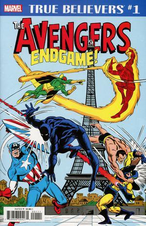 True Believers Avengers Endgame #1